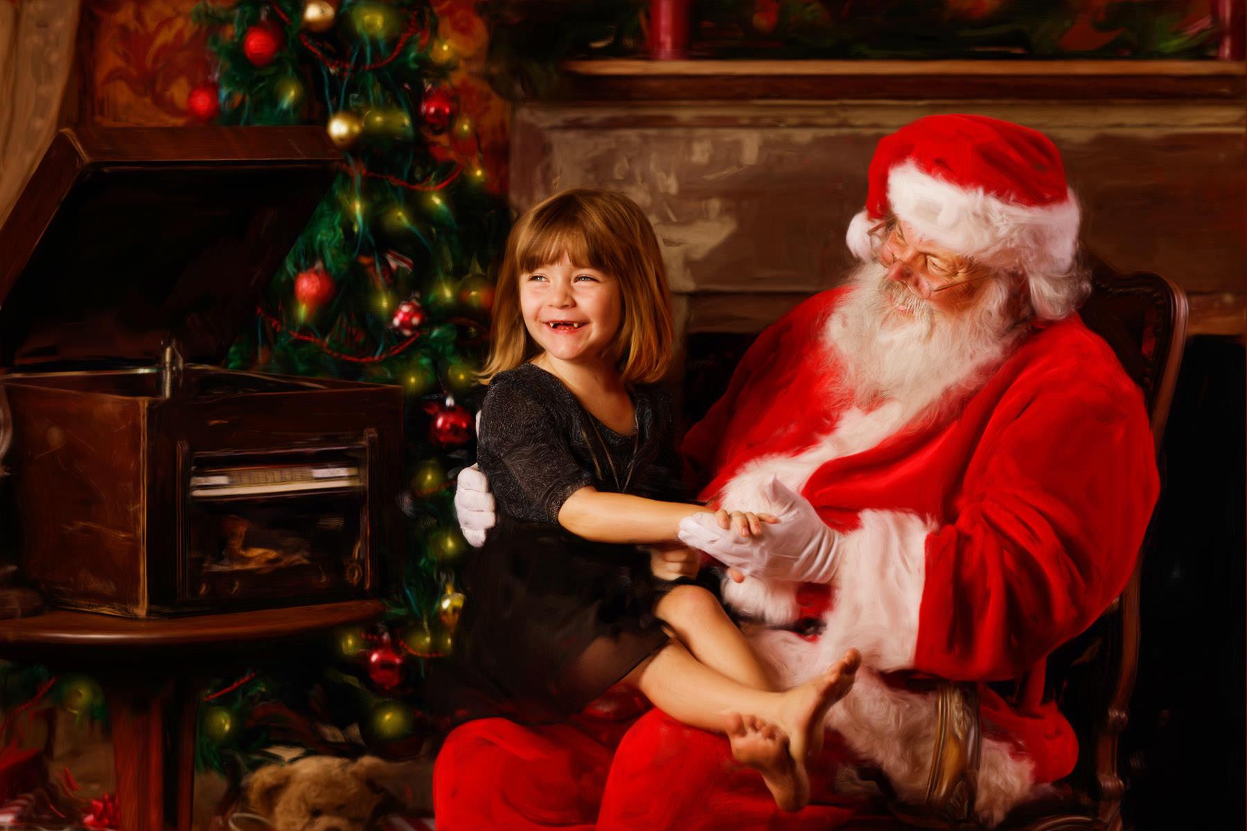 charleston santa experience