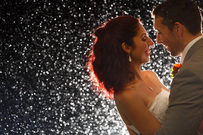 night time charleston wedding photography