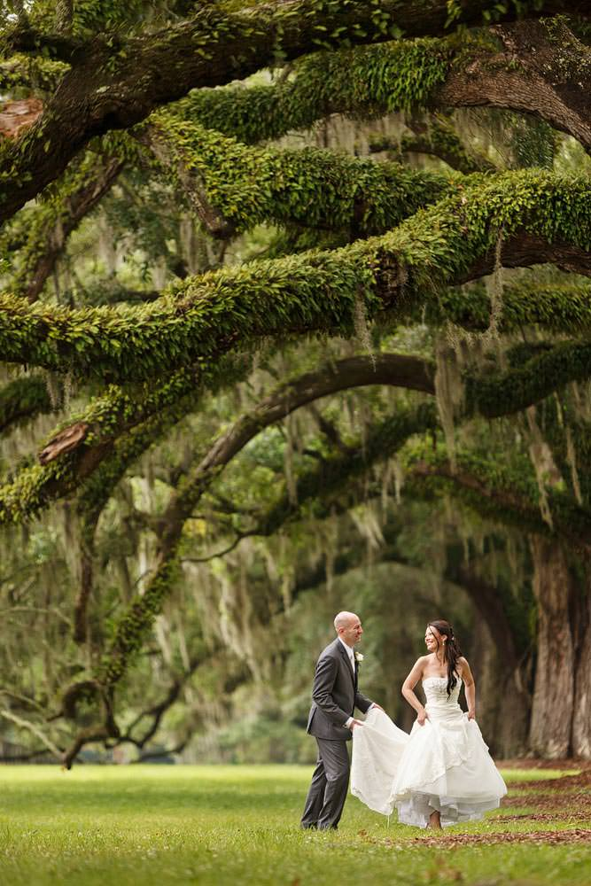 charleston wedding photography among the oaks