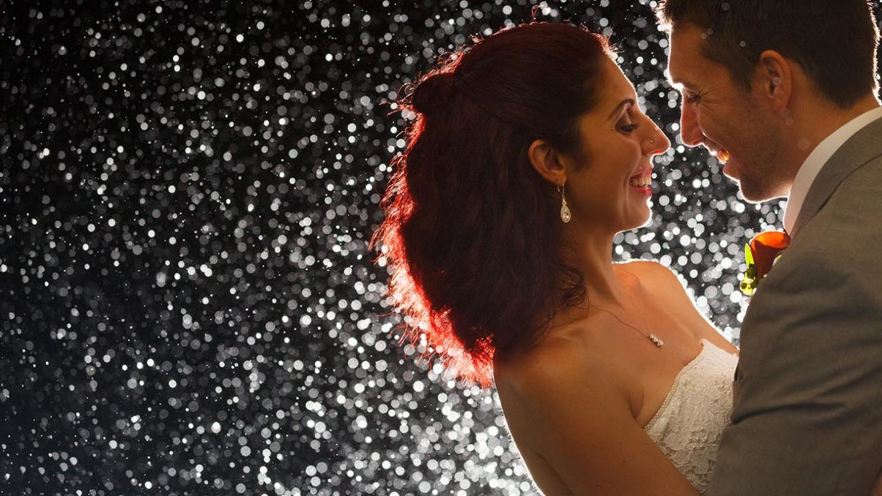 How To React To Rain On Your Wedding Day | Nuvo Images