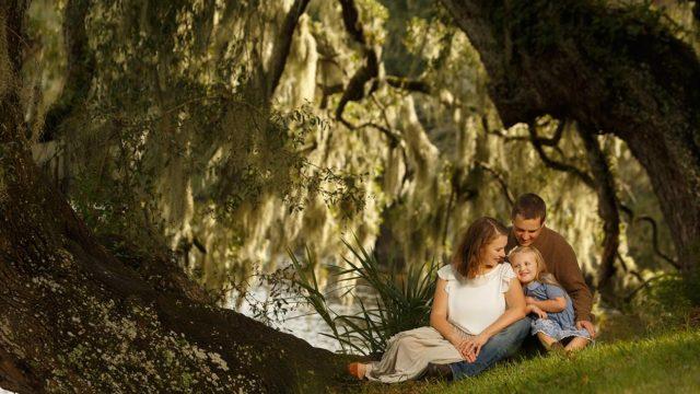 Charleston Portrait Photographers   The Sabo Family   Magnolia Plantation