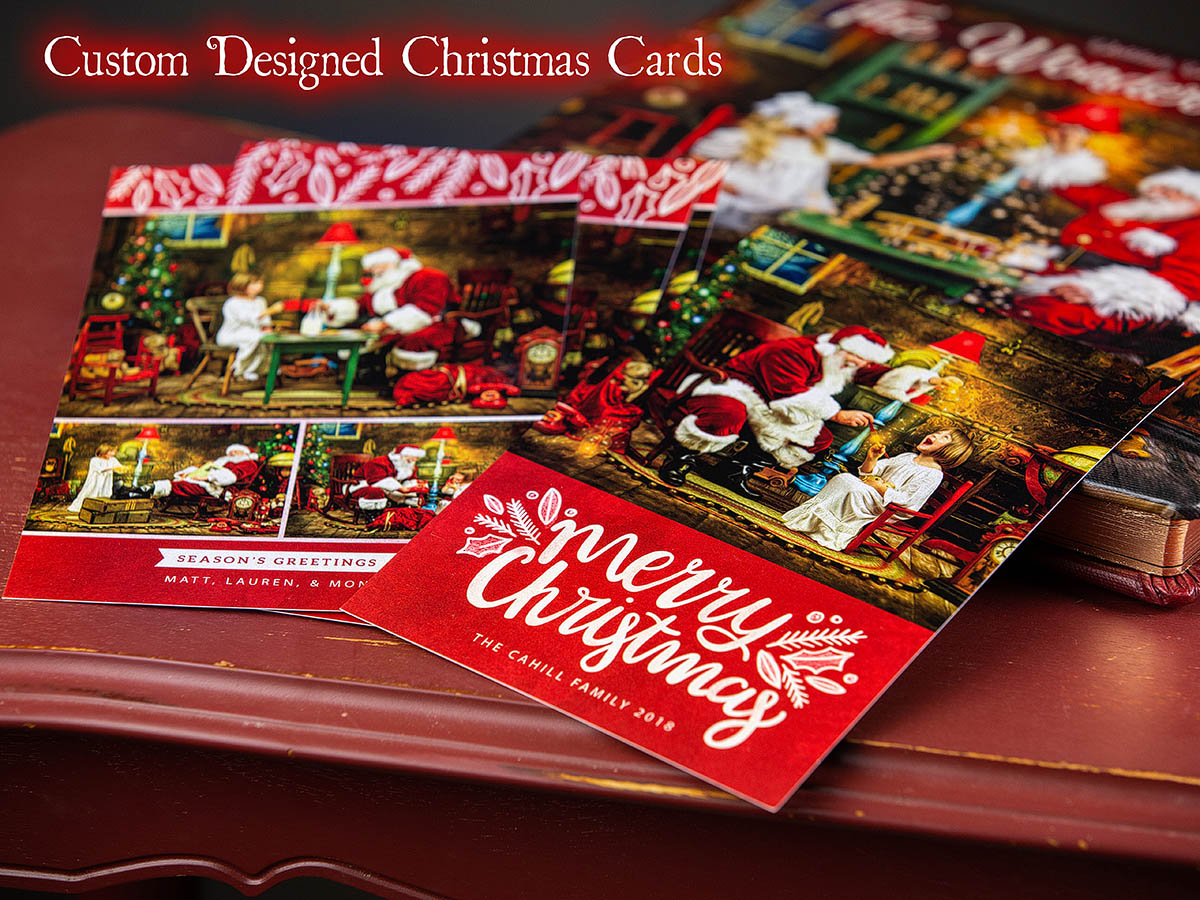 christmas cards of charleston