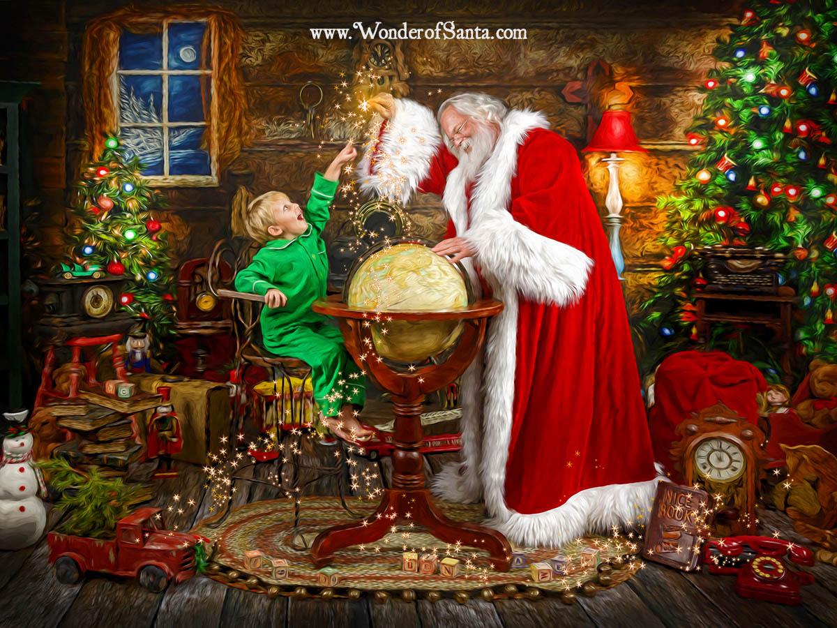 charleston santa storybook experience