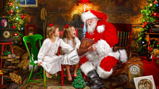 The Ultimate Santa Storybook Experience | Nuvo Images