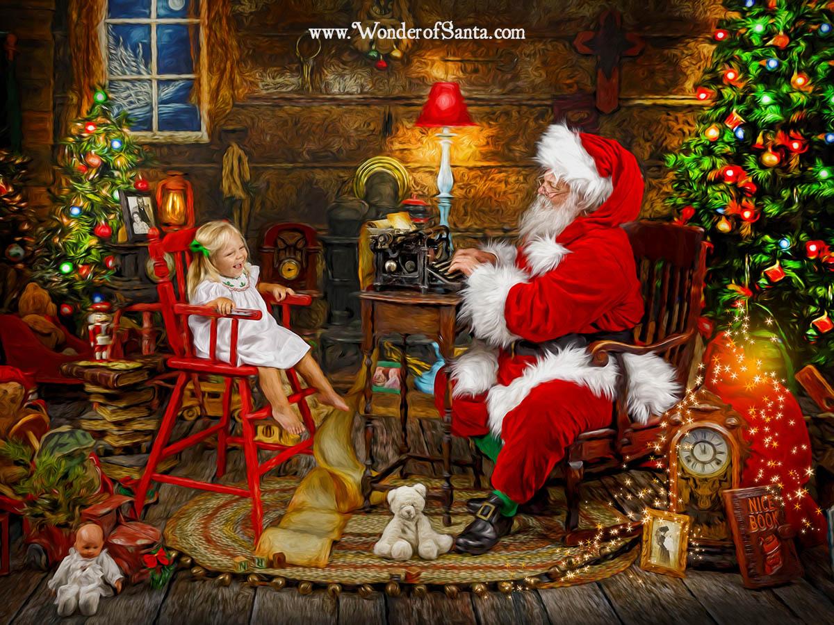 santa storybook experience